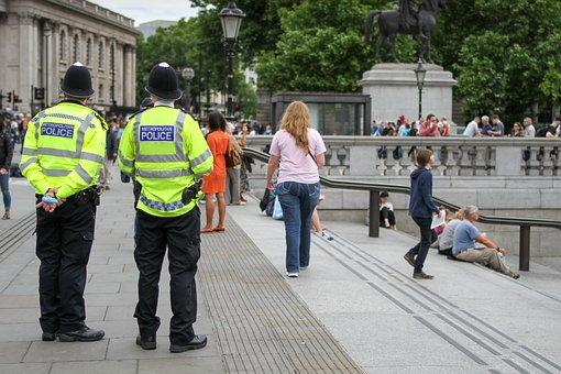 Police, London, City, England, British