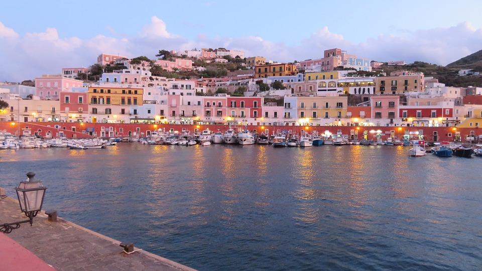 Ponza, Pontine Island, Port, Italy, Vacations, Tourism