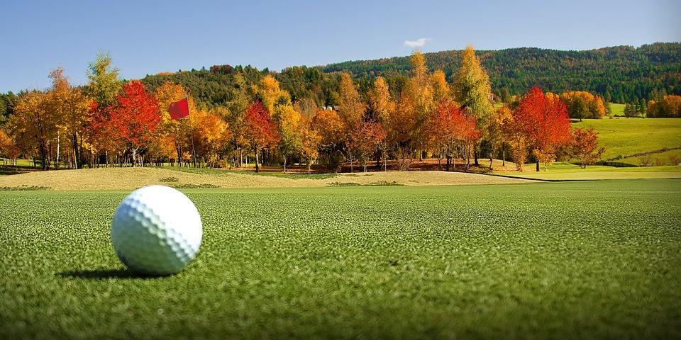Ilustrasi bola golf