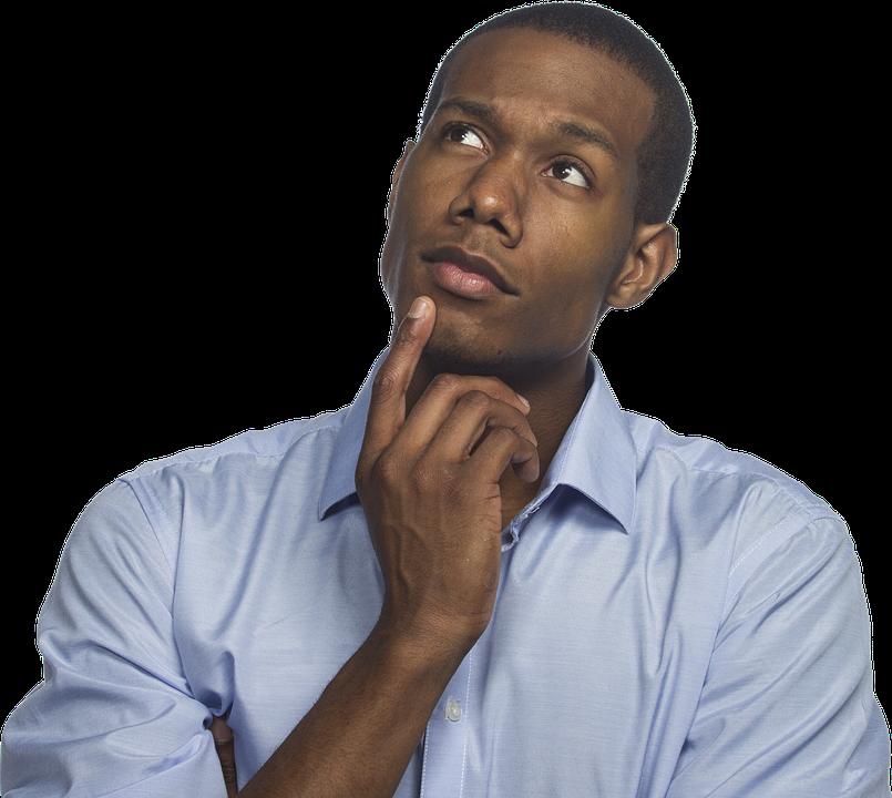 Thinking Man Reflection Thou - Free photo on Pixabay