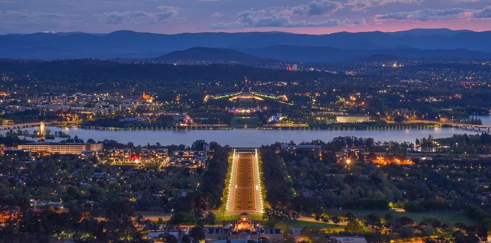 Australia, Canberra, Jeziora Burley Griffin, Canberra