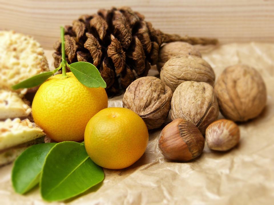 Frutta A Guscio, Rubinetto, Cookie, Mandarino, Agrumi