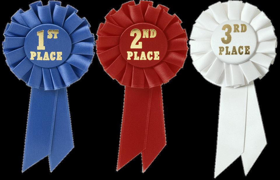 Розетка-Лента, Награда, Призы, Конкурс, Первый, Победа