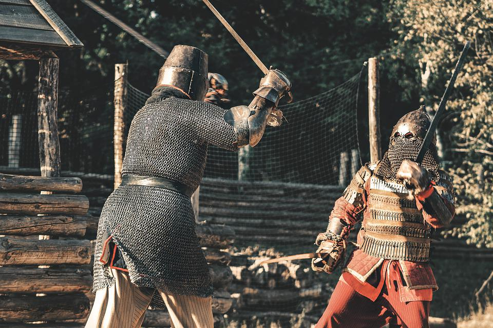 Knight Armor Battle - Free photo on Pixabay