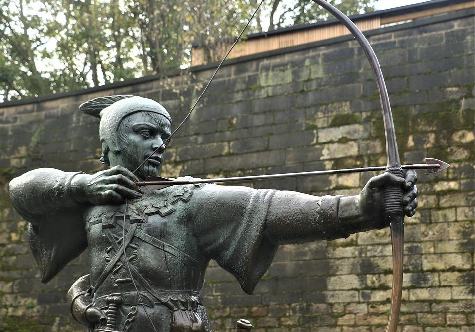 Robin Hood, Shooting, Nottingham, England, Bronze