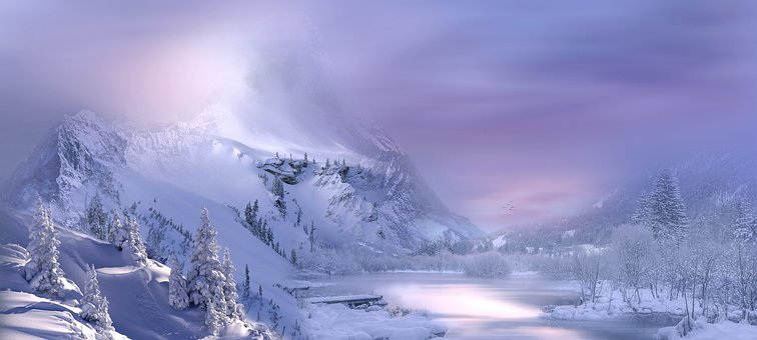 Natur, Landschaft, Winter, Schnee