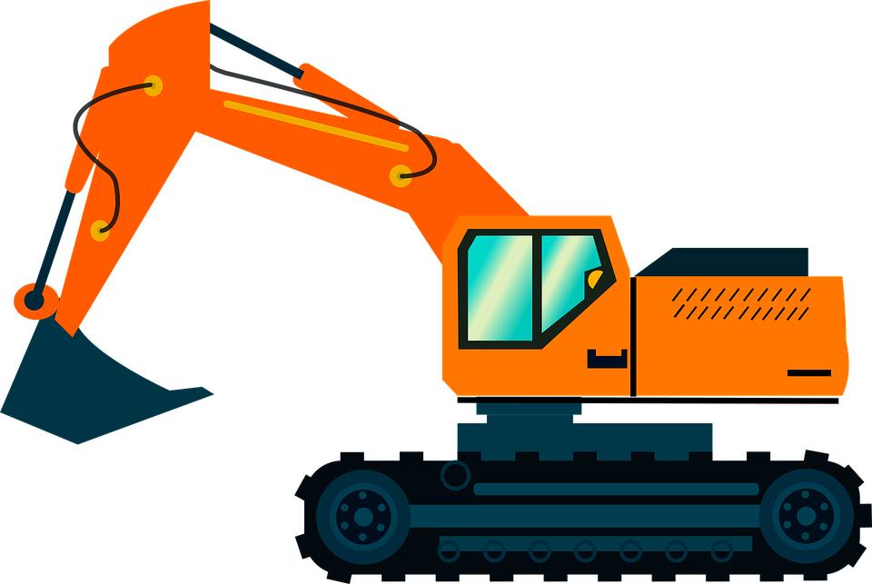 Hoe, Heavy Equipment Used in Construction