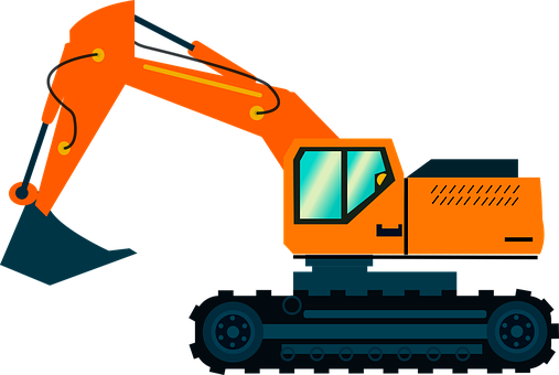 Excavator, Heavy Machinery, Truck