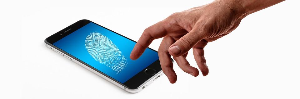Smartphone, Dedo, Huella Digital, Seguridad, Biometría