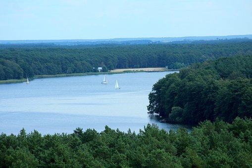 湖, 景观, 心情, 风景, 夏天, 假日, 水, 性质, 视图, 放宽, 舞台