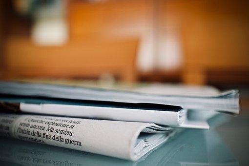 Gazeteler, Haftalık, Okuma, Bilgi, Kağıt