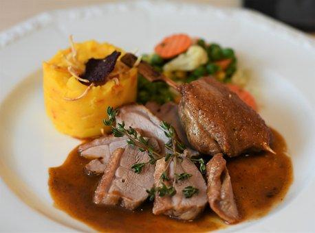 Eat, Duck, Roast Duck, Substantial