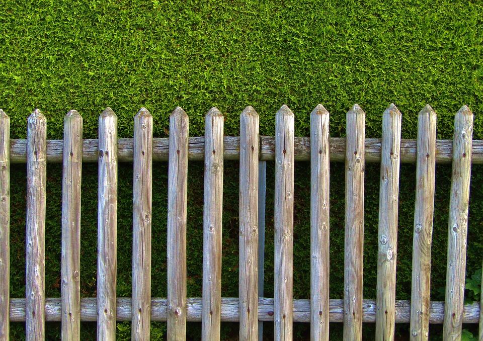 Clôture De Jardin Bois Lattes Haie - Photo gratuite sur Pixabay