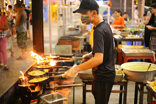 Cocina, Fuego, El Sudeste De Asia