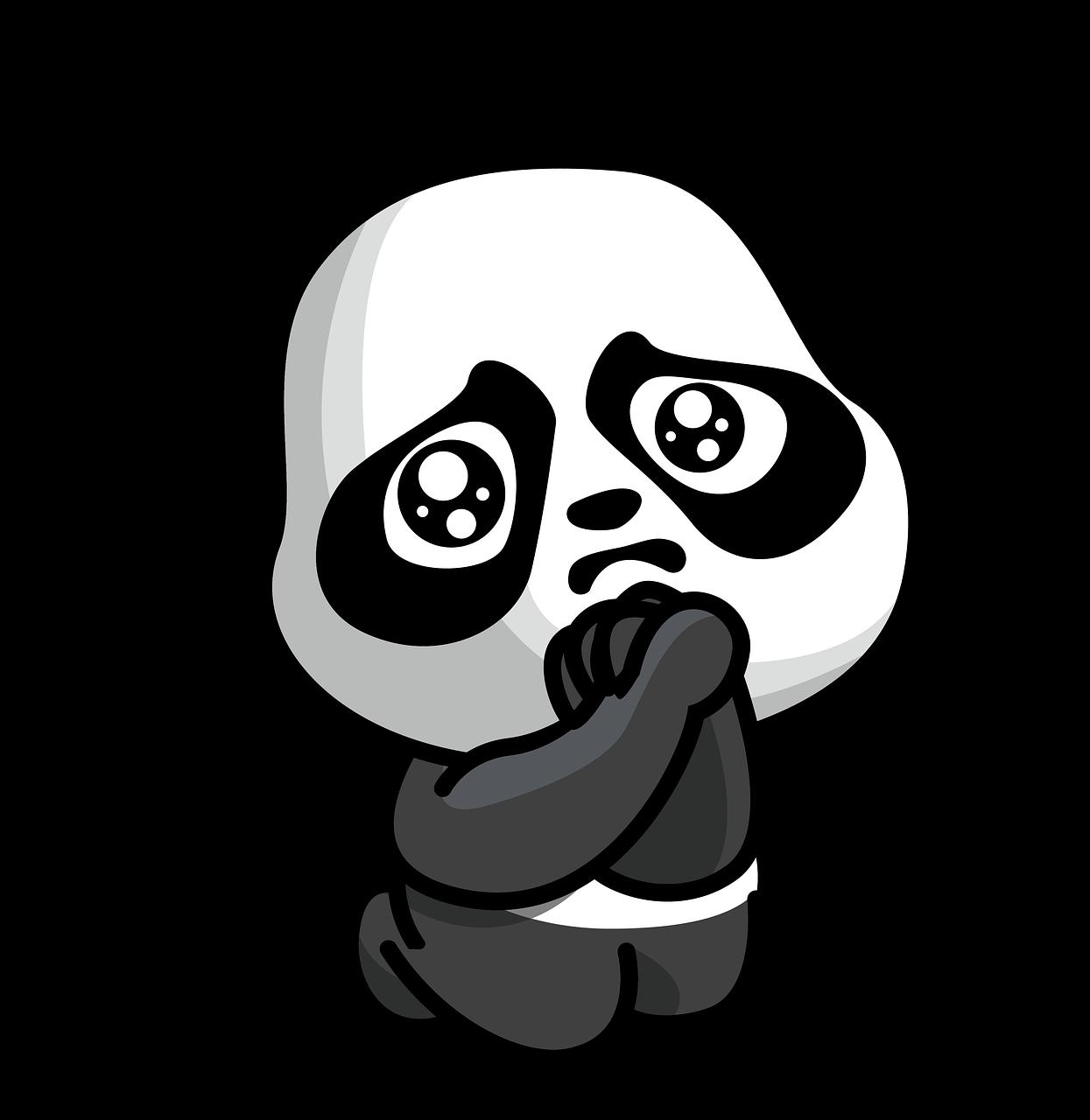 Panda Dessin Anime Mignon Image Gratuite Sur Pixabay