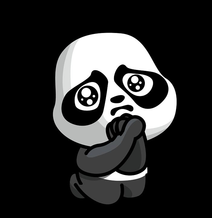 Panda Dessin Animé Mignon Image Gratuite Sur Pixabay