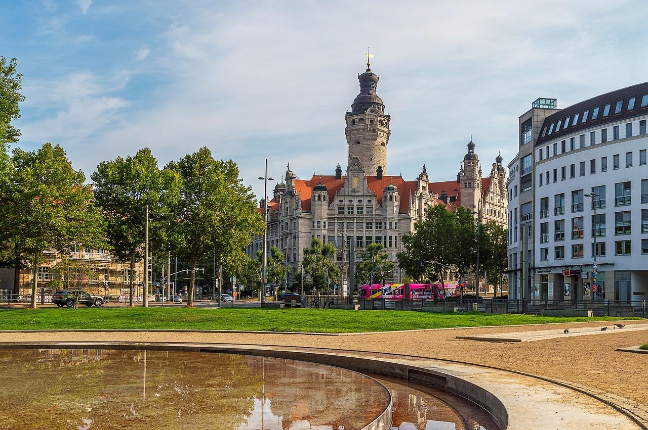Leipzig New Town Hall Germany Free Photo On Pixabay