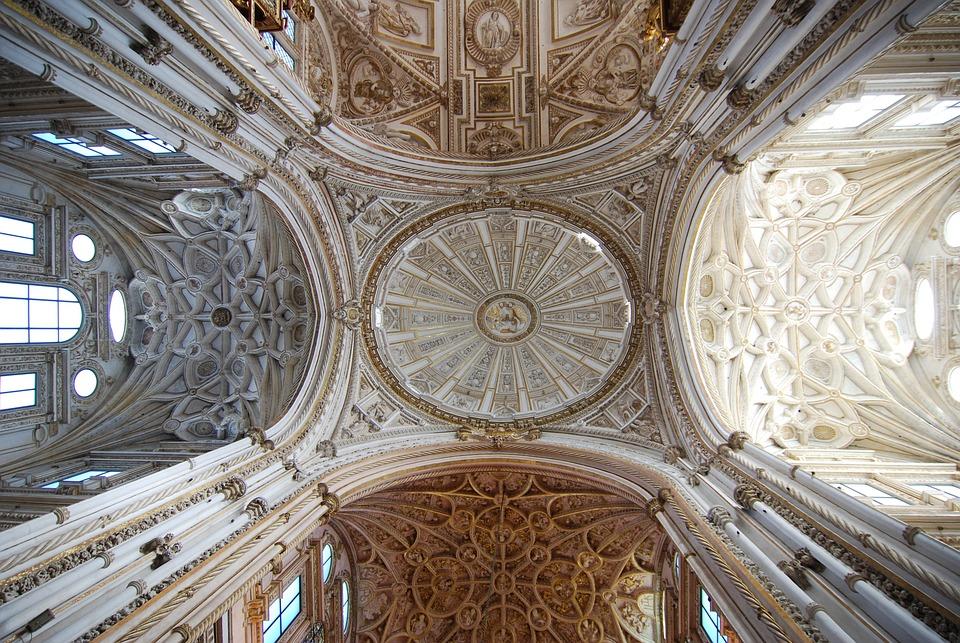Mezquita, Córdoba, Andalucía, España, Catedral