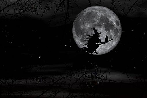 Halloween, Darkness, Witch, Horror, Fear