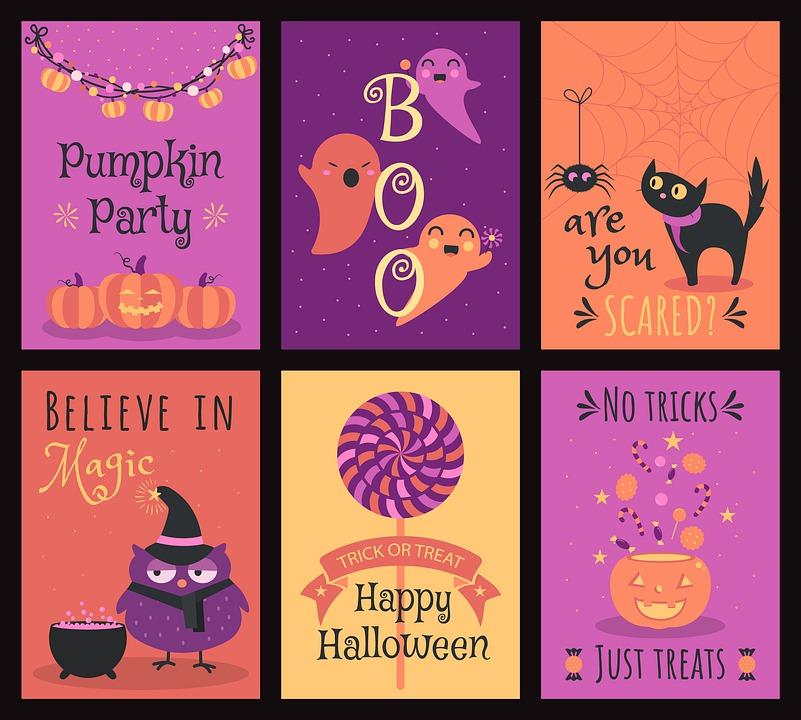 Halloween Mignon Dessin Animé Image Gratuite Sur Pixabay