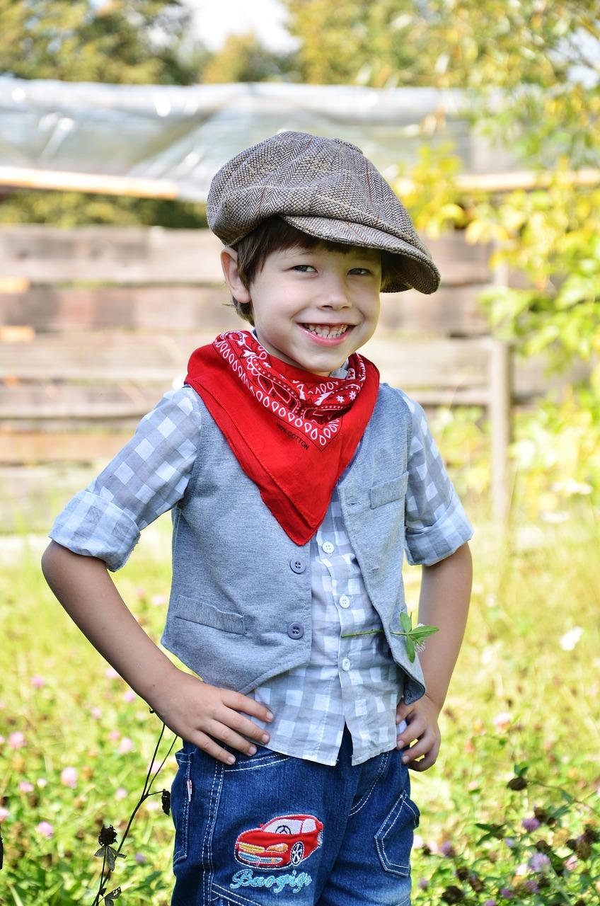 Cowboy bandana style