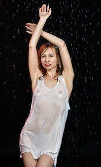 Girl, Woman, Erotica, Topless, Breast