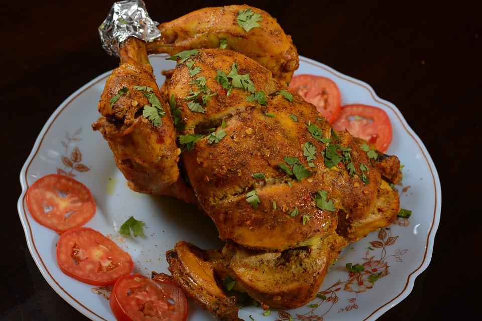 Курица, Целая Курица, Питание, Органических, Здоровый