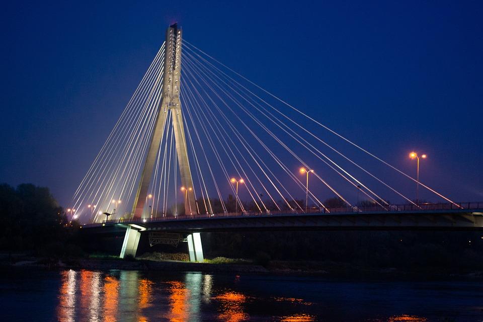 Nocny Przednia, Warszawa, Polska, Miasto, Architektura