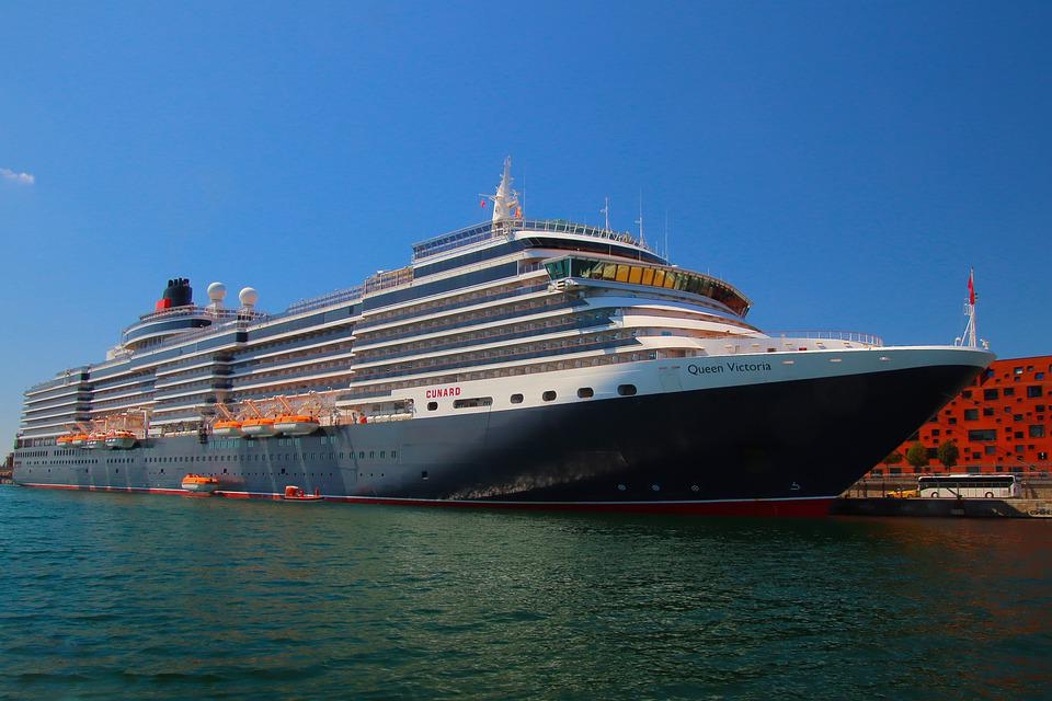 cunard cruise line's queen victoria ship