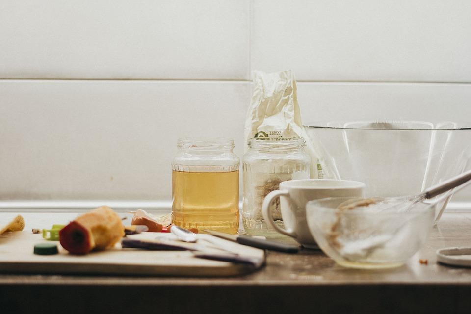 Kitchen Mess Honey Free Photo On Pixabay