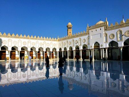 Al-Azhar, Cairo, Islam, Mosque, Egypt