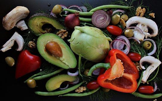 Vegetables, Diet, Bio, Fresh, Colorful, thanksgiving, avocado, sides