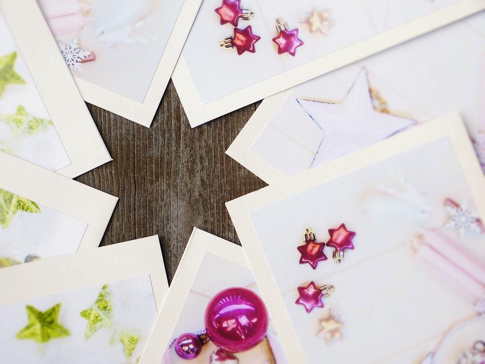 Christmas Cards, Star, Christmas, Christmas Time