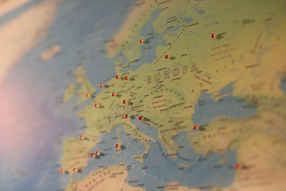 Europe Map Of The World - Free photo on Pixabay