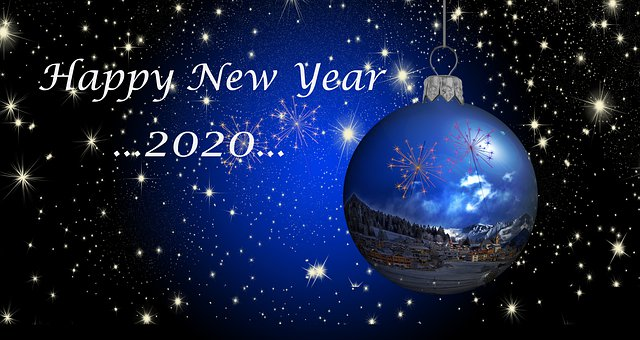 The New Year 2020, Happy New Year