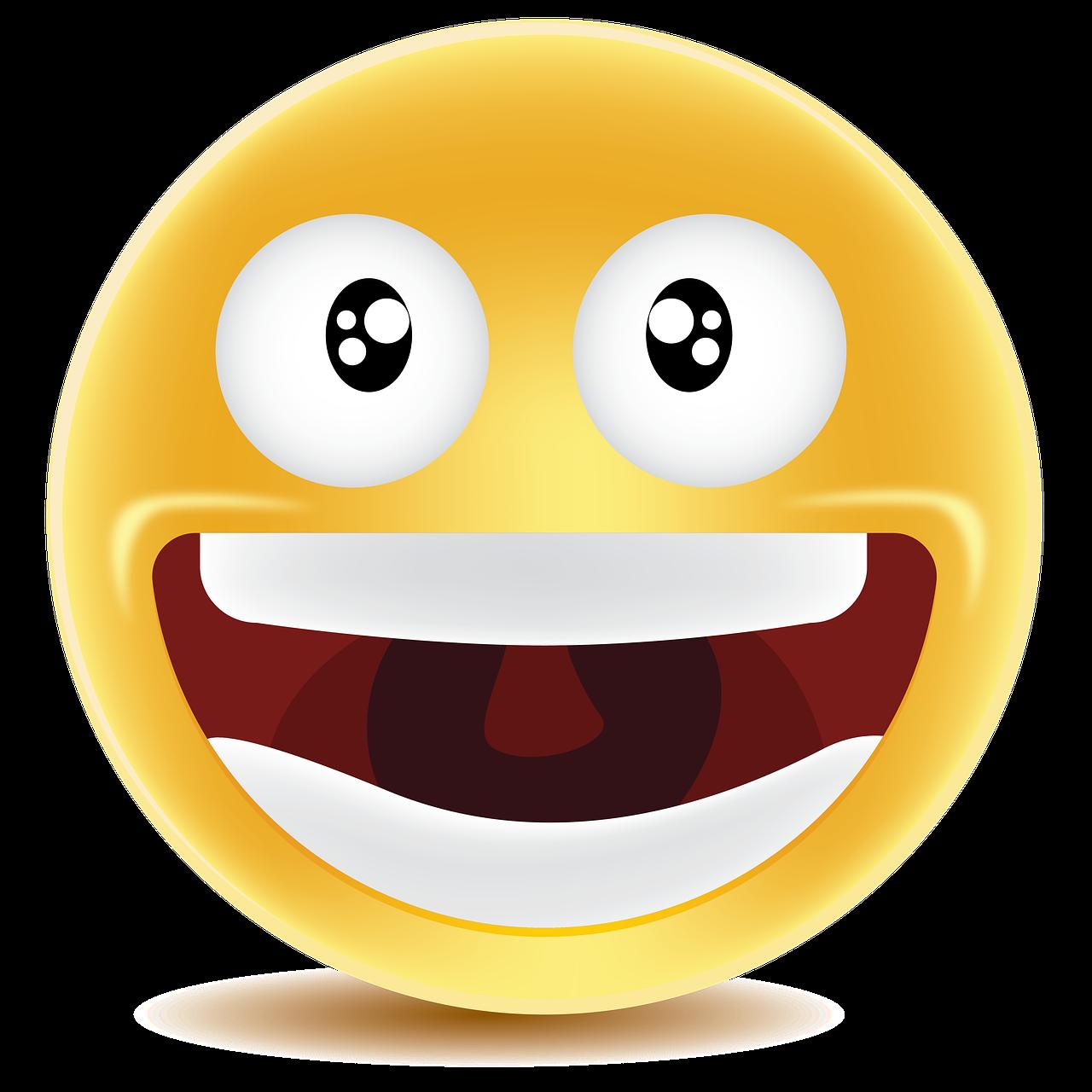 картинка смеющейсего смайлика преддверии