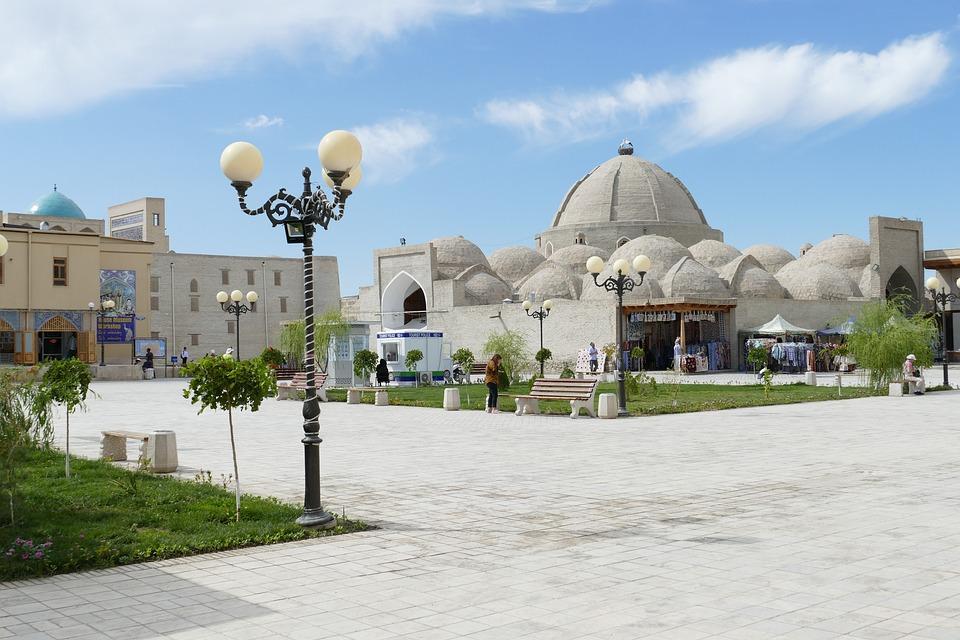 乌兹别克斯坦, 布哈拉, 架构, 圆顶, 世界遗产, 历史中心, 历史, 砖, Buxoro, 世界文化遗产