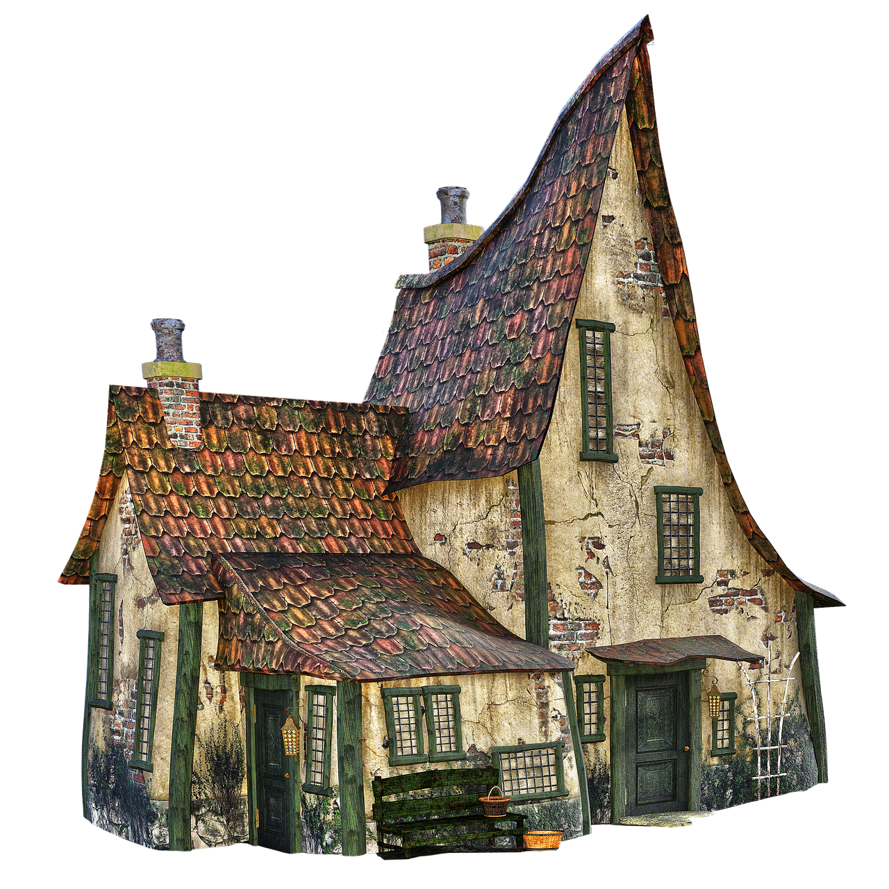 Old House Witch'S Halloween - Free image on Pixabay