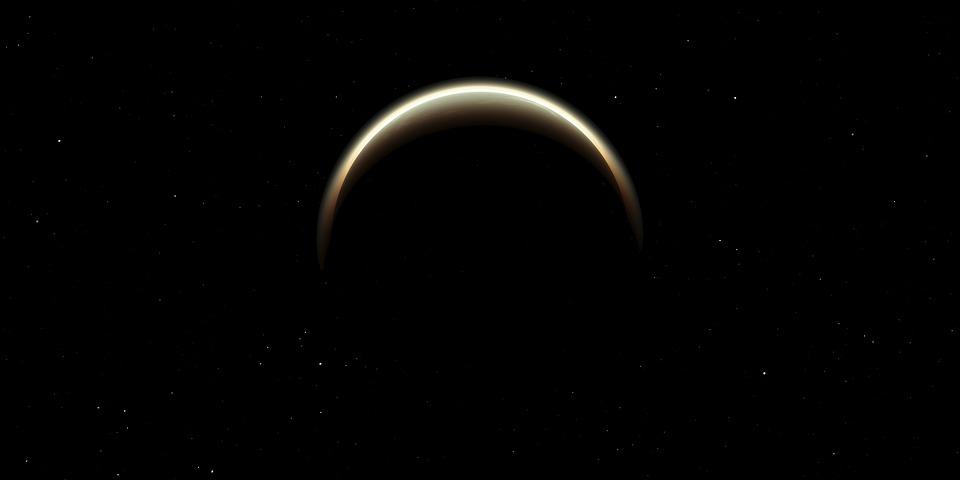 Eclipse, Espace, Lune, Ciel, Lunaire, Soleil, Solaire
