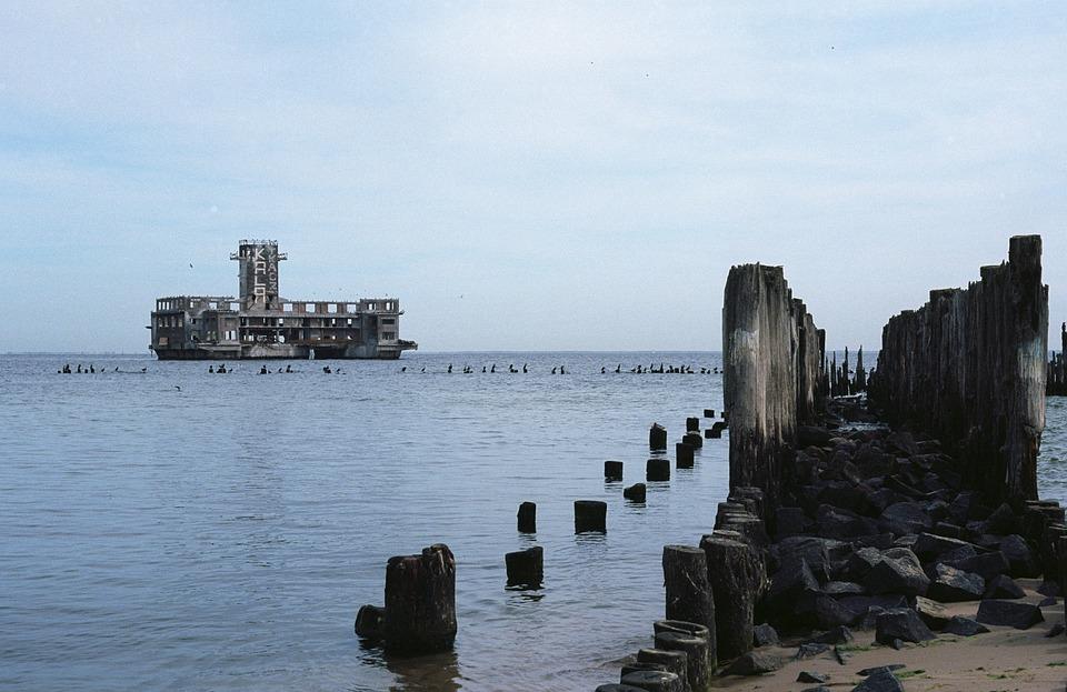 Море, Torpedownia, Гдыня, Побережье, Балтийское Море