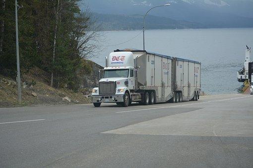 Camión, Camión Blanco, Camión De Carga