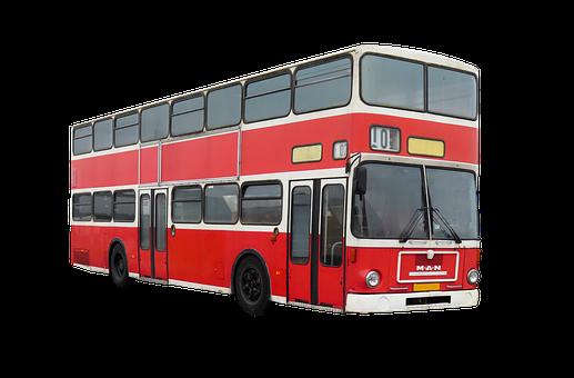 Transport, Traffic, Bus, Double Decker