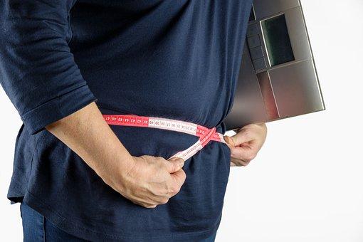 Tape Measure, Measure, Thick, Fat, Bacon