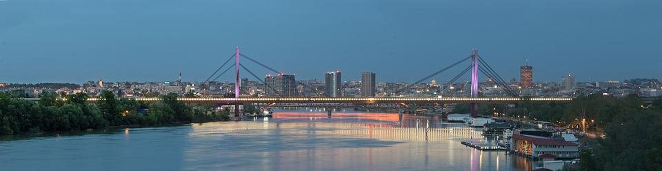 Belgrad, Nacht