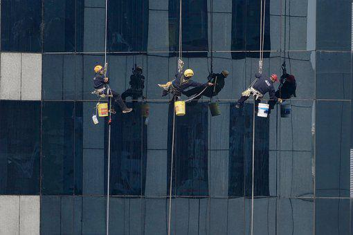 Window Cleaner, Window Cleaning, Office