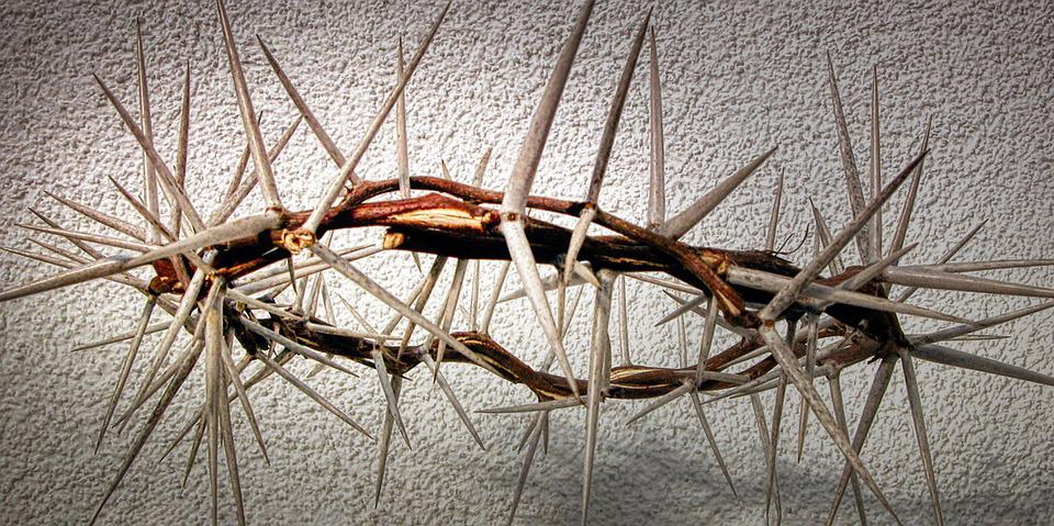 Easter, Crown Of Thorns, Crucifixion, Christ