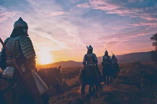 Horse, Soldier, Warrior, War, Battle