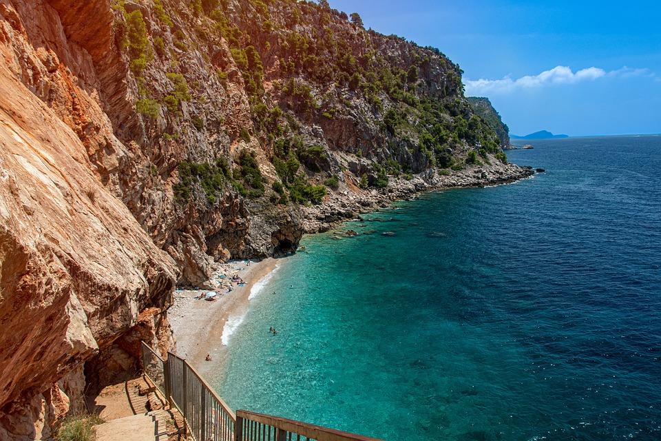 Paradise beach in Croatia