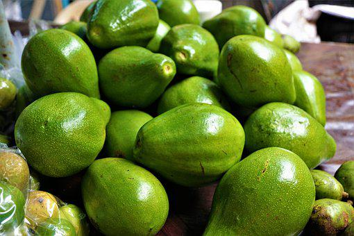Avocado, Eat, Market, Green, Vegan