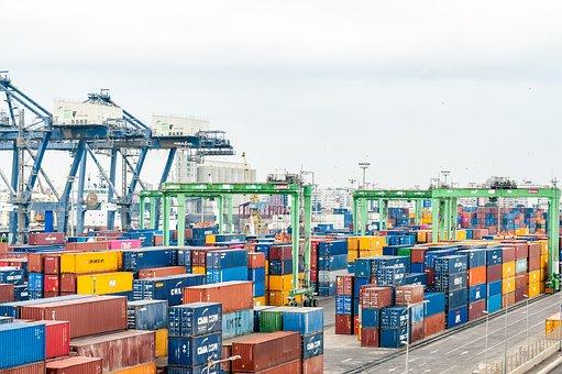 Puerto, Contenedor, Exportación